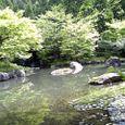 清大寺の日本庭園