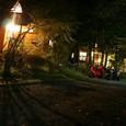 山中湖キャンプ場にて